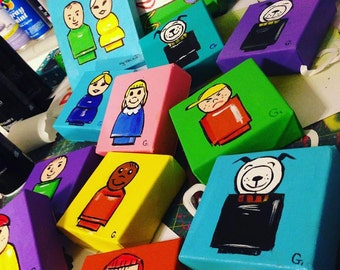Fisher Price Little People Inspired Painting Minis