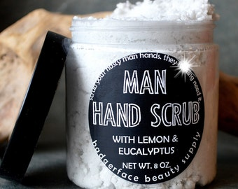 Hand Scrub for Men. Hand Scrub. Mechanic Gift. 8 oz. Pumice Scrub. Gifts for Boyfriends. Husband Gift. Man Hand Scrub. Boyfriend Gift.