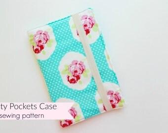 Plenty Pockets Zipper Case PDF sewing pattern