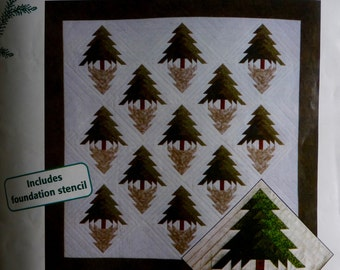 Spruce Shadows Quilt Kit
