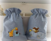 Two Fabric Toy Bags On Reserve for Lynsyd