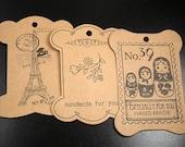 Cardboard Spooler 10 Large Display Cards 100-105mm x 77-79mm x 1mm (1027mis105w1)