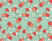 NEW PRICE * MODA Chestnut Street Floral Berries Aqua Blueberry 20273 13 Fig Tree Fresh Modern Farmhouse
