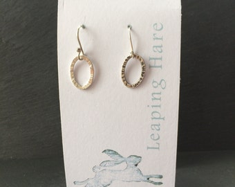 Hammered hoops - small