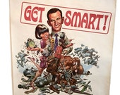 Get Smart 1966 Poster Promotional Mail Order Poster TV Show Maxwell Smart . vintage 1960s television poster . KAOS Don Adams Barbara Feldon
