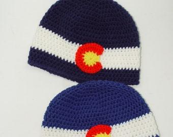 Colorado Flag Hat - Child, Beanie