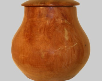Redwood Burial / Cremation Urn 446