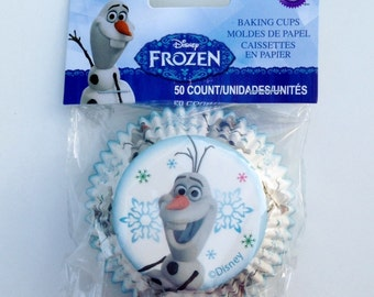Wilton Muffin Cupcake Liners Baking Cups - Disney Frozen Olaf Baking Supplies