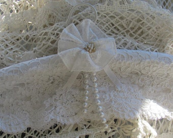 Weding Lace Over Padded Hanger,  Handmade Lace Flower,Covered Hanger...Wedding, Special Occasion