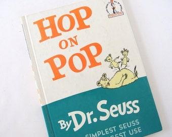 "Vintage Dr. Seuss Book ""Hop on Pop"""