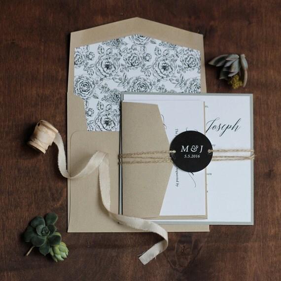 Invito Matrimonio Rustico : Calligrafia invito matrimonio rustico moderno