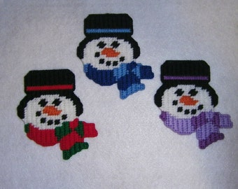 Snowman Magnets PATTERN ONLY