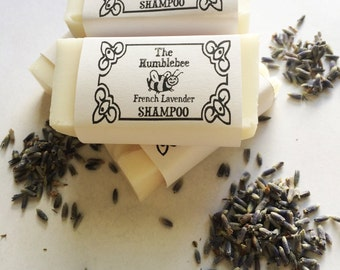 SAMPLE SIZE: French Lavender Shampoo Bar