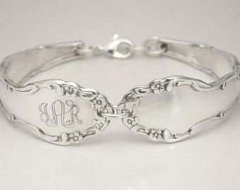 Spoon Bracelet, Silverware Bracelet, Personalized Spoon Bracelet, Personalized