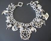 Witch Jewelry, Witch Bracelet, Witchcraft Jewelry, Pentangle Jewelry, Pentangle Bracelet,Spell Jewelry, Spell Bracelet, Supernatural Jewelry