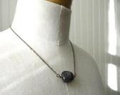 Amethyst pendant necklace * February birthstone * Crown chakra jewelry
