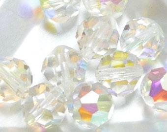 Vintage Crystal Article 5000 Round Crystal AB 10mm (4)