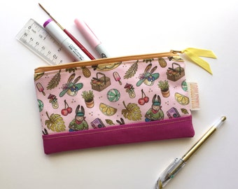 Summer themed - Pencil Case - Pouch