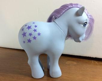 G1 Vintage My Little Pony- Blue Belle