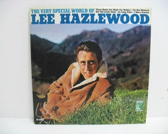 Vintage LP Lee Hazlewood The Very Special World of Vinyl Record WLP Promo