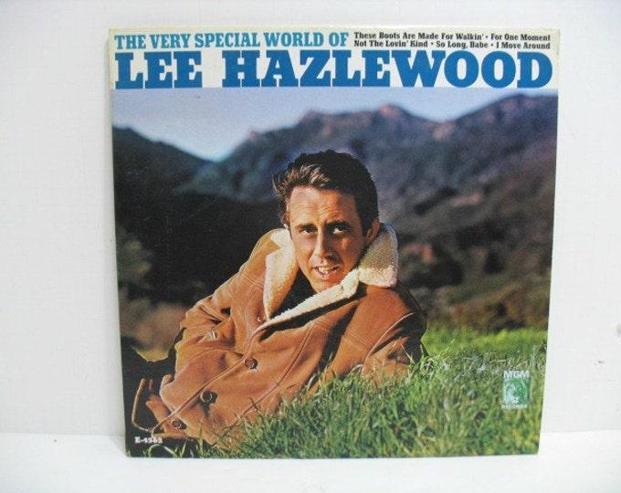 Lee Hazlewood The Very Special World of, Vintage LP Vinyl Record, WLP Promo