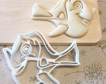 Dory Cookie Cutter - Fondant Icing Cake Cupcake Topper Iced Sugar Cookies Biscuits Mould Reef Fish Mold Finding Dory Birthday Party Nemo