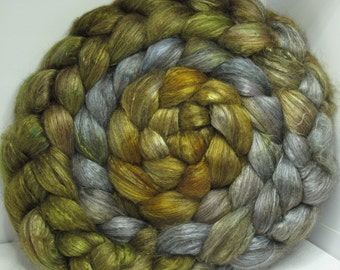 Yak Bombyx Silk 50/50 Roving Combed Top - 5oz - Cripple Creek 2