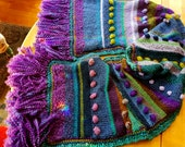 Peaceful warrior---a very sumptuous shawl by bennylove