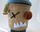 Original price 9.00 Coffee Monster Coffe Sleeve is one Coozie coffee Monster, Save the planet one coffee sleeve at a time.