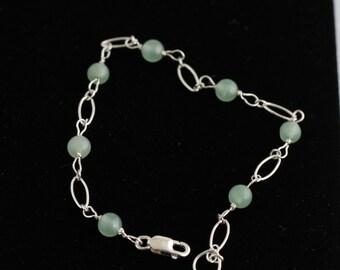 Aventurine Bracelet. Listing 294171477