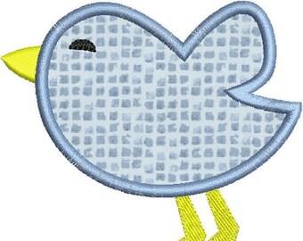 SALE 65% off Baby Bird Applique Machine Embroidery Designs 4x4 & 5x7 Instant Download Sale