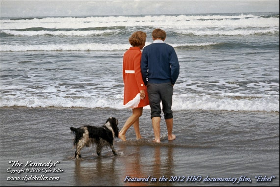 THE KENNEDYS, Oregon Coast, Clyde Keller Photo, Fine Art Print, Color, Signed, Treasury, featured in Ethel, Rory Kennedy HBO film