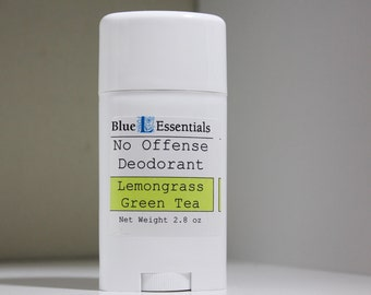 Deodorant - Lemongrass Green Tea - No Offense Deodorant