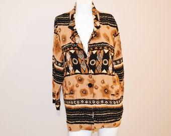 Vintage Blazer / Jacket Aztec Single Button