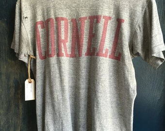 Vintage cropped Cornell t shirt