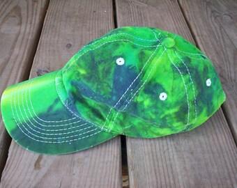 Green Tie Dye Hat