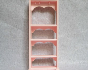 1994 Barbie Dreamhouse Light Pink Bookcase