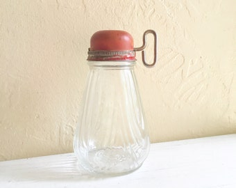 Vintage Nut Grinder Complete Set Glass Jar Lid