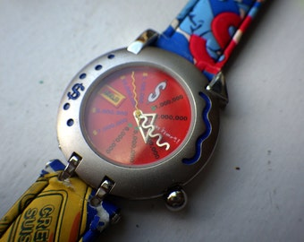 Rare 1990s/1980s - Finance Themed Watch - Credit Suisse - Mod - Bold