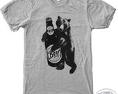 Mens BEER HUG t shirt s m l xl xxl (+ Color Options)