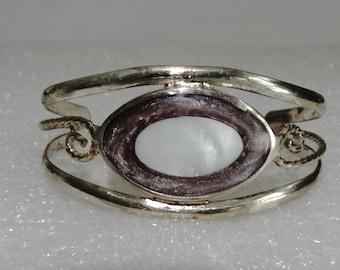 Vintage Alpaca Mexico Silver Childs Bracelet