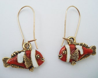 Clownfish or anemonefish Earrings