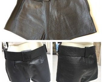 The Sexiest 1970's Leather Hot Pants Ever!