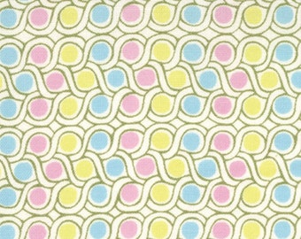 Sugar Pop 1 & 1/2 Yard Remnant 18067-20 Pink/Yellow/Aqua
