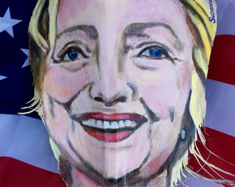 Painted Palm Frond Hillary