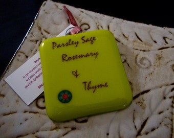 Parsley Sage Rosemary & Thyme Mini Stand-up Plaque