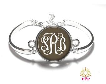Brown Monogram Bracelet Style 333