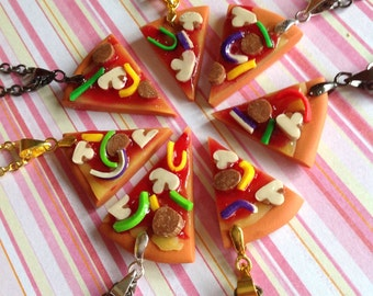 Cowabunga Dudes Pizza Slice Necklaces