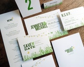 Garden Party Wedding Printable Set