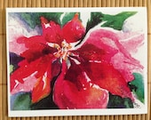 RESERVE LISTING for Susan Dilday 30 POINSETTIA packs of cards